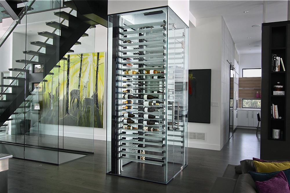 Cellier de verre